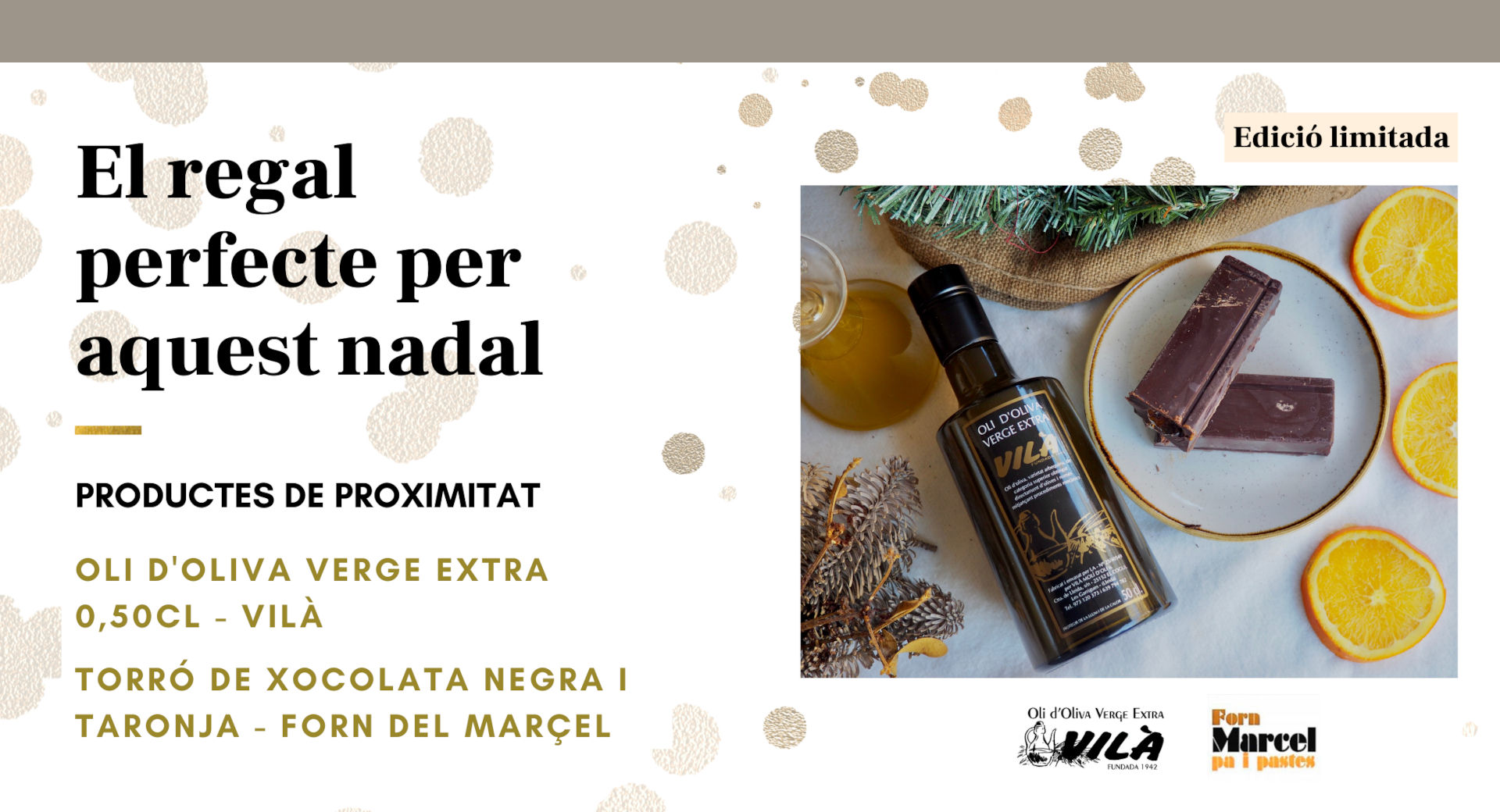 Oli Vilà promoció nadal